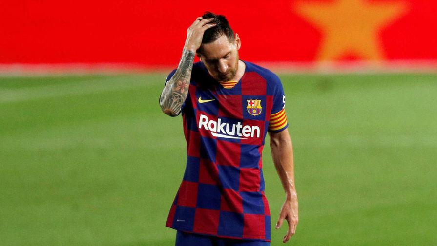 Экс-тренер 'Барселоны' пытался 'указать на дверь' Месси