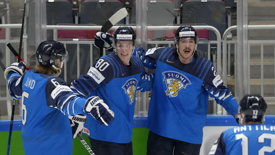 Финляндия сыграет с Канадой в финале ЧМ по хоккею