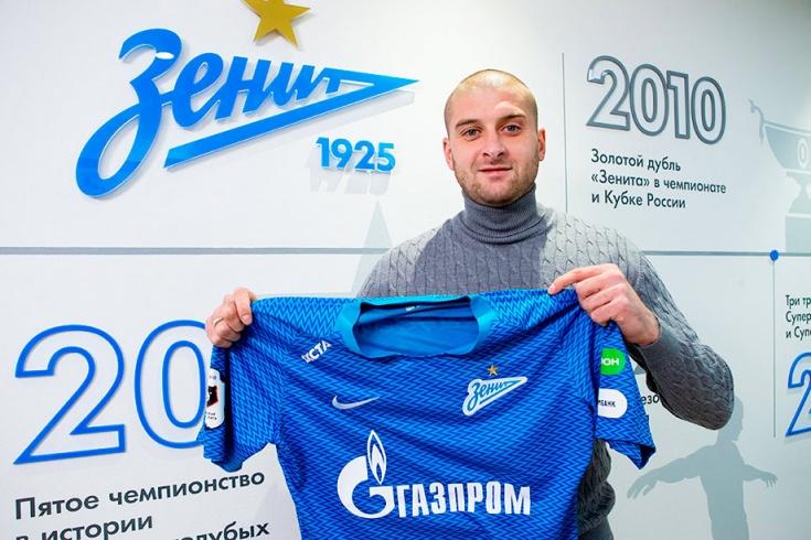 Защитник 'Зенита' попросил прощения за свою игру у клуба и болельщиков