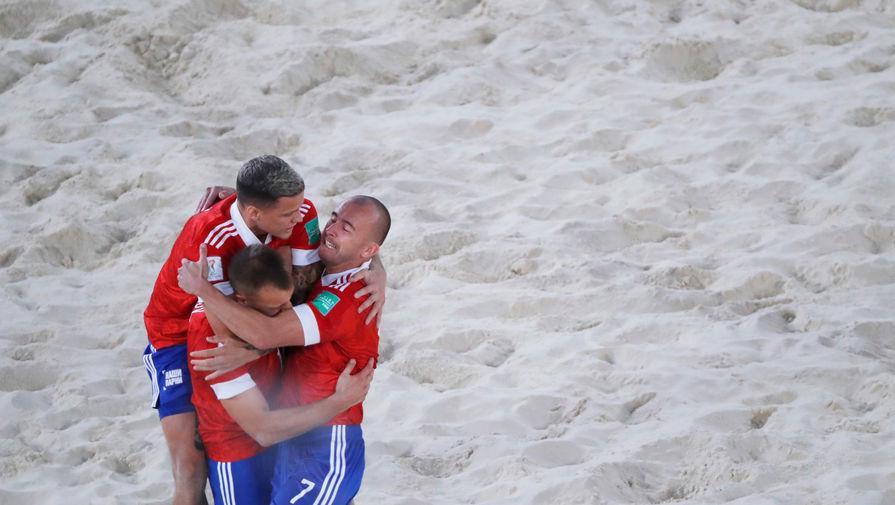 Игрок сборной России по пляжному футболу рассказал, что может быть круче победы на ЧМ