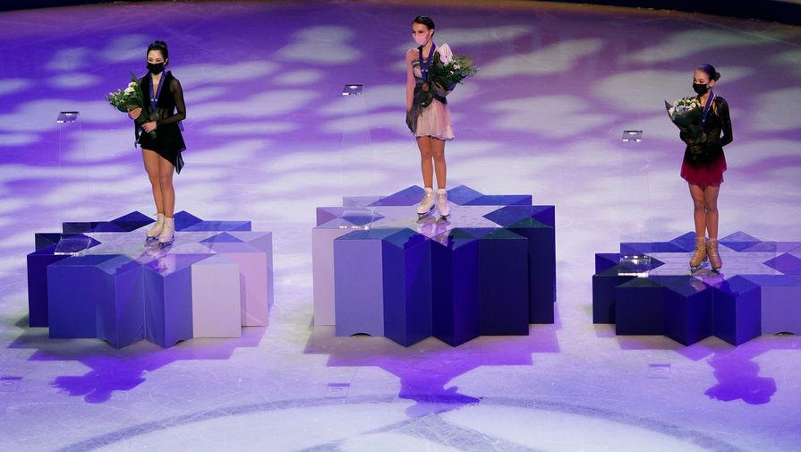 Объявлены гонорары российских фигуристок за медали чемпионата мира