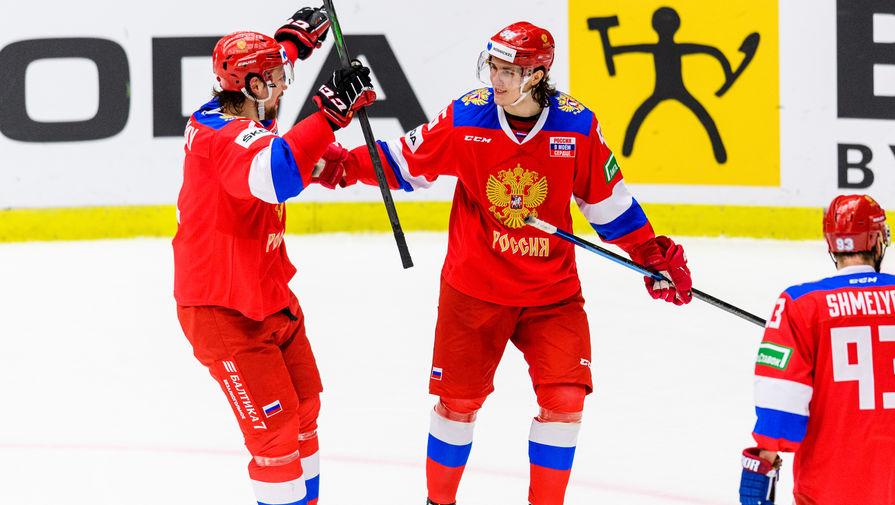 Ларионов назвал победу России над Швецией заслугой всей команды
