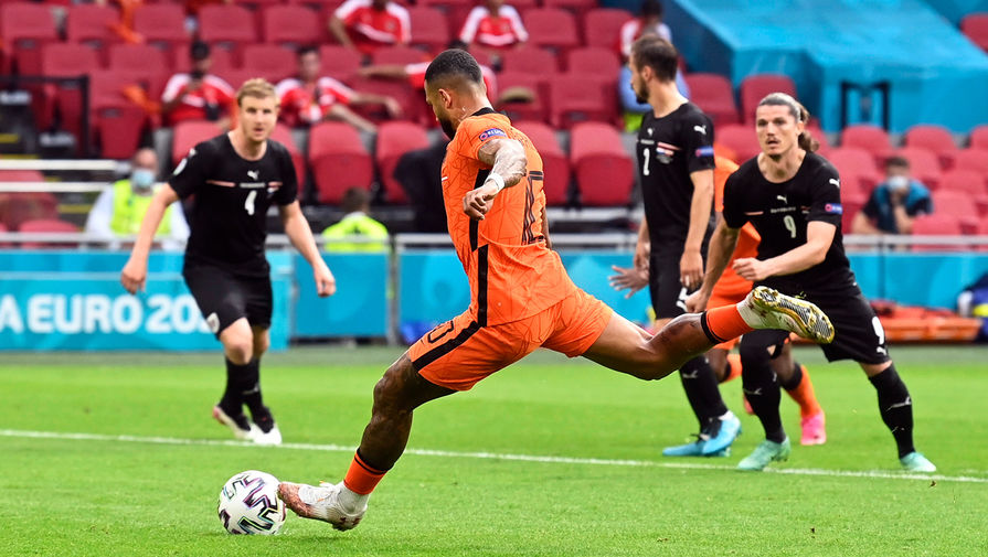 Нидерланды обыграли Австрию в матче Евро-2020 и вышли в плей-офф
