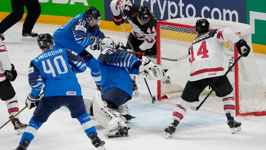 Канада обыграла Финляндию в финале чемпионата мира по хоккею