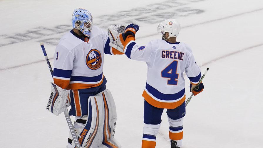'Айлендерс' обыграл 'Бостон' в пятом матче серии плей-офф НХЛ