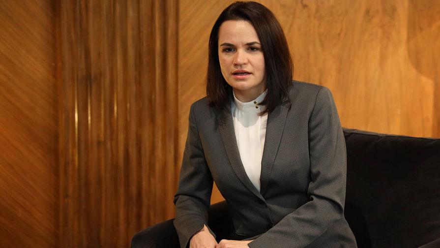 Тихановская заявила о возможном бойкоте ЧМ-2021 в Минске