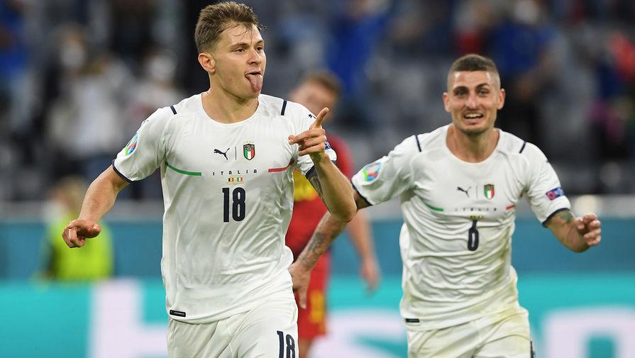 Сборная Италии установила личный рекорд по голам на чемпионатах Европы