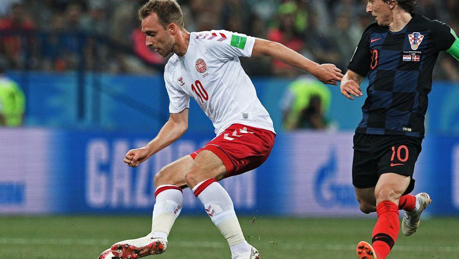 Игроки сборной Дании получили психологическую помощь после инцидента с Эриксеном