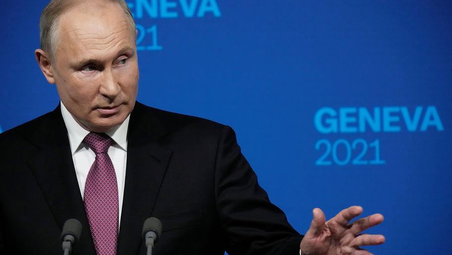 Путин поздравил сборную России с победой над Финляндией в матче Евро-2020