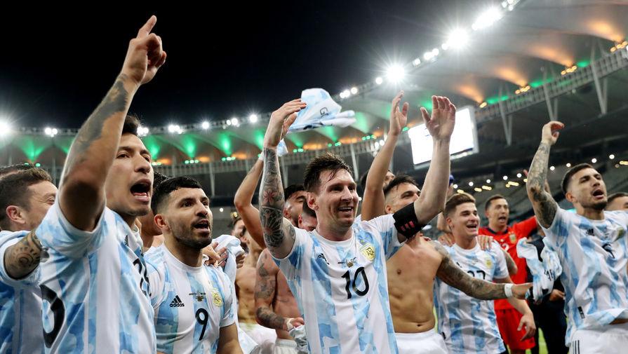 Месси выиграл первый трофей в составе сборной Аргентины