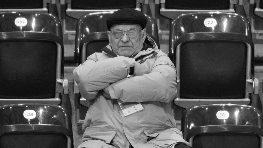 Тренер по фигурному катанию Москвин скончался в возрасте 91 года