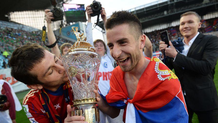Тошич заявил, что верит в успех Березуцкого на посту наставника ЦСКА