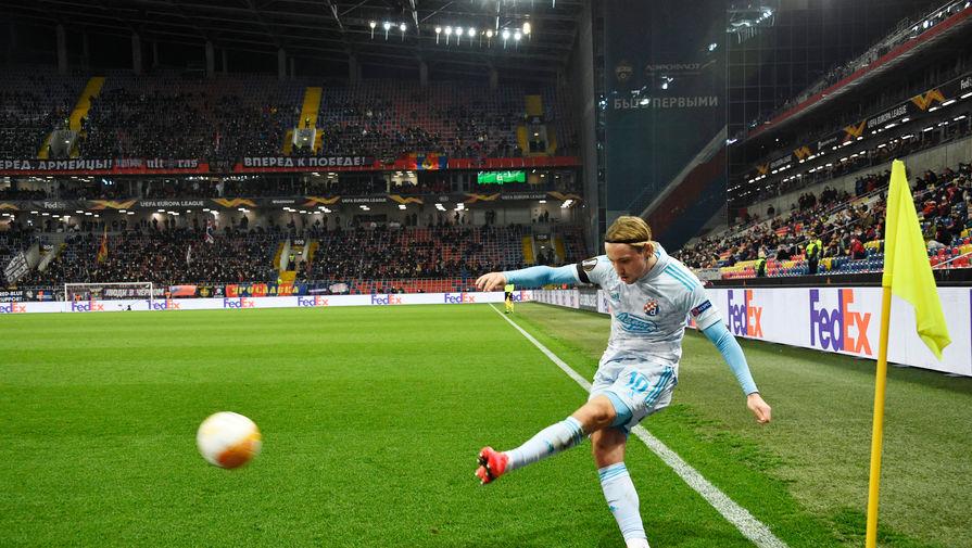 'Динамо' разгромило 'Вольфсберг' в матче Лиги Европы