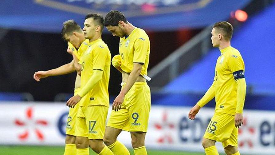 Главный тренер сборной Украины прокомментировал поражение от Германии