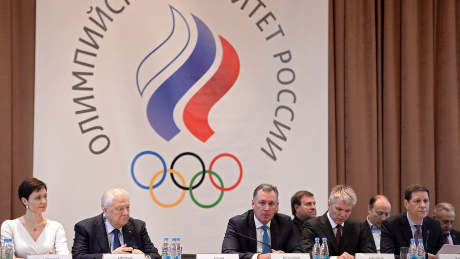 Россия выступит на Играх в Токио и Пекине под флагом и эмблемой ОКР