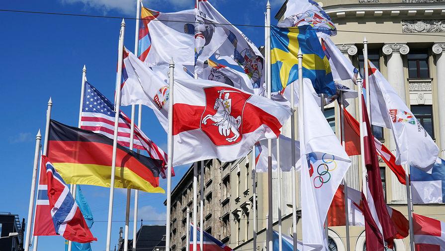 Мэр Риги объяснил, почему поменял флаг Белоруссии на ЧМ по хоккею