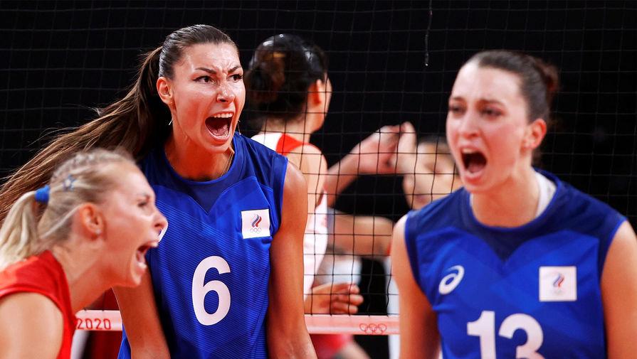 Российские волейболистки обыграли китаянок на Олимпиаде в Токио