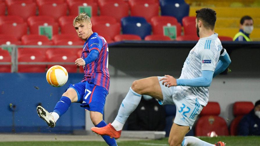 Грушевский поделился впечатлениями от матча ЦСКА против загребского 'Динамо'