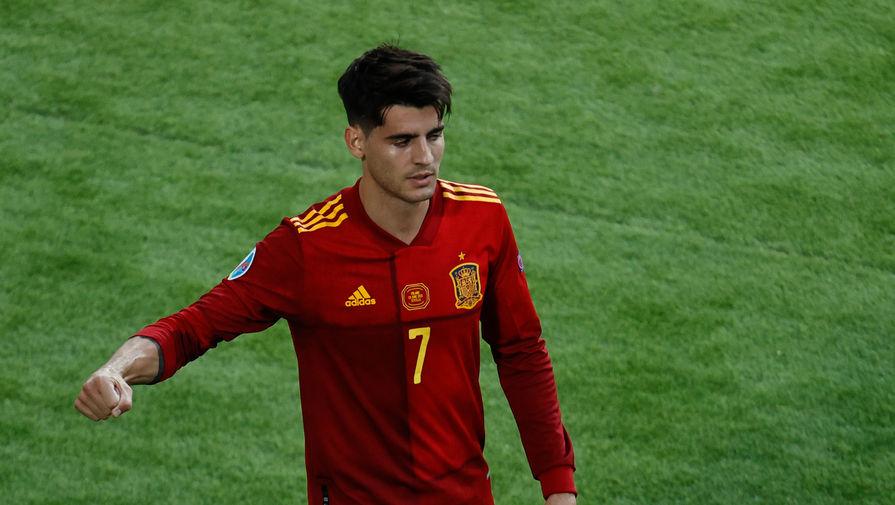 Футболист сборной Испании Мората установил уникальное достижение