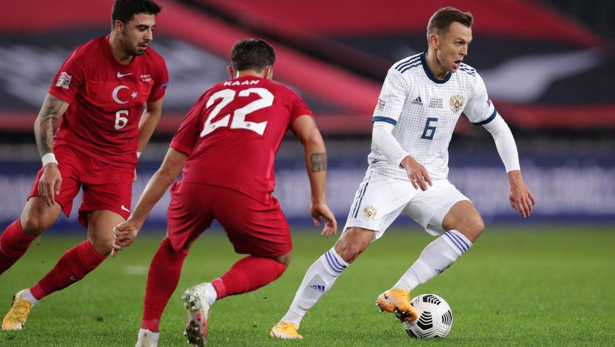 Болельщики назвали имя лучшего игрока сборной России в игре с Турцией