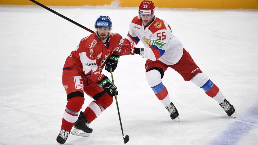Сборная России победила Чехию в матче Кубка Карьяла
