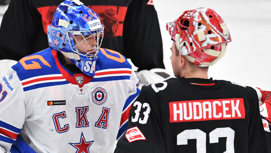 СКА обыграл 'Спартак' в матче КХЛ