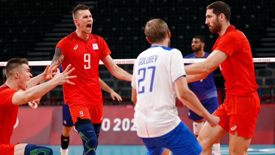 Три волейболиста сборной России вошли в символическую команду Олимпиады