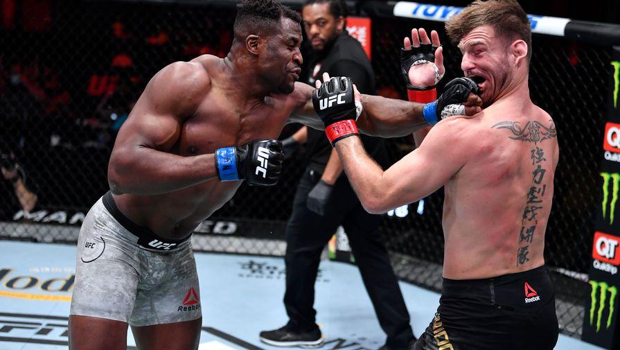 Нганну одолел Миочича в главном бою UFC 260