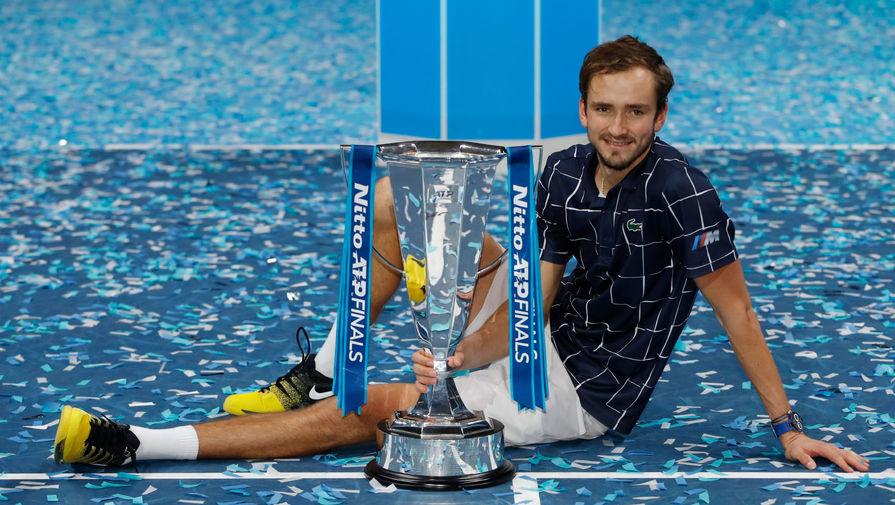 Медведев прокомментировал победу на Итоговом турнире ATP