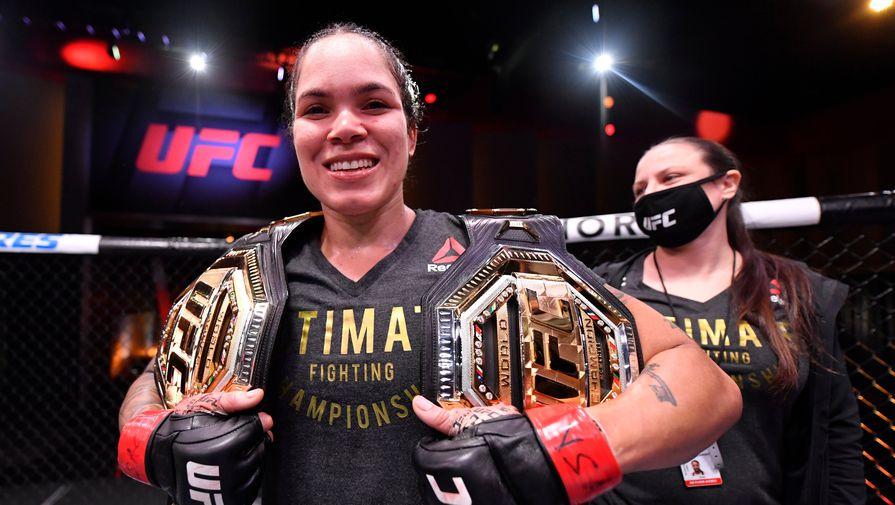 Нуньес сохранила чемпионский пояс в полулегком дивизионе UFC