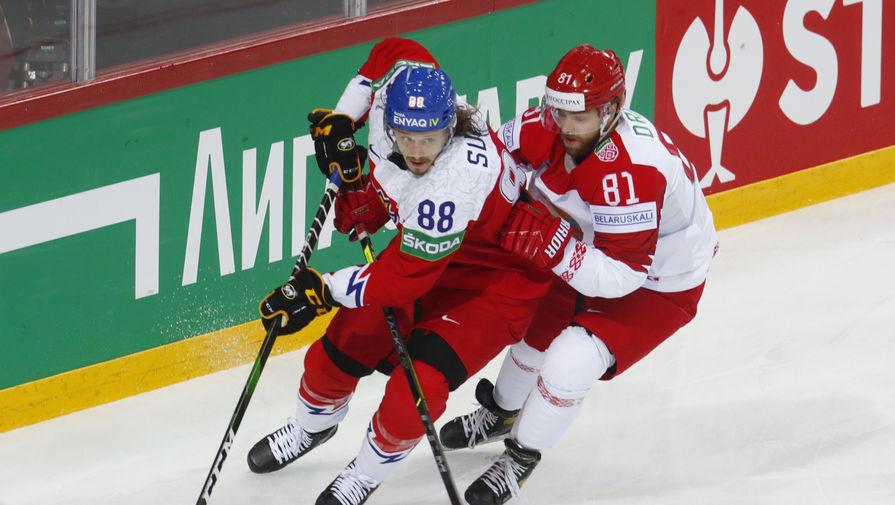 Чехия в овертайме обыграла Белоруссию в матче чемпионата мира