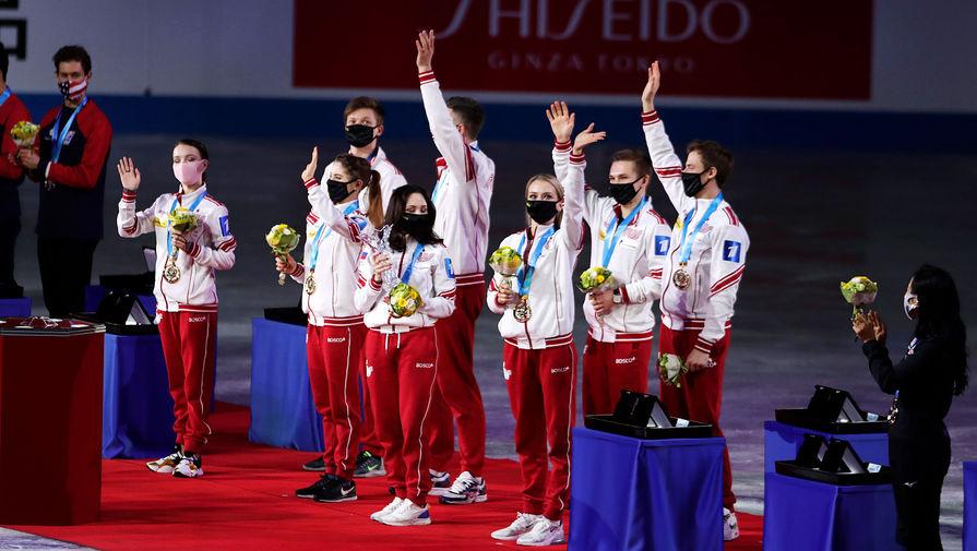 Чайковская прокомментировала успехи сборной России по фигурному катанию