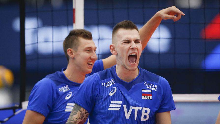 Стал известен соперник российских волейболистов в 1/4 финала чемпионата Европы