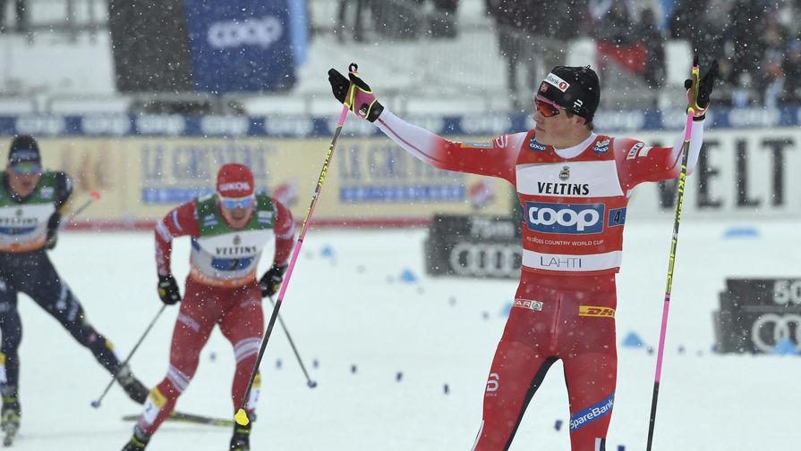 Шведский лыжник объяснил, почему Клебо нельзя было наказывать за инцидент с Большуновым