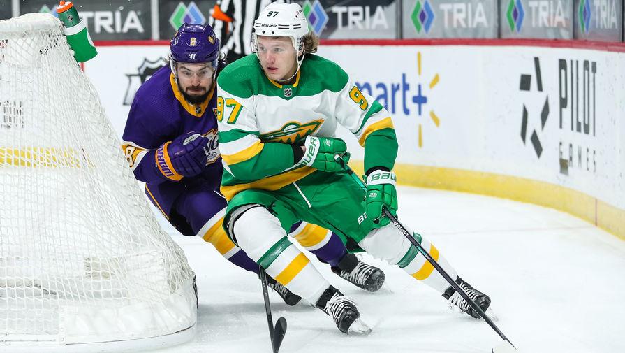 'Миннесота' Капризова всухую одолела 'Вегас' в матче НХЛ