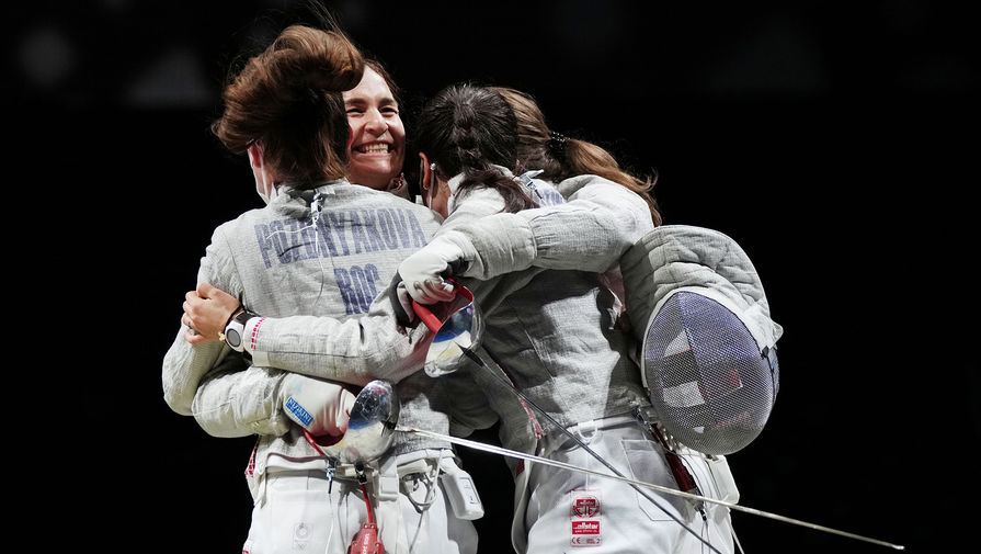 Российские саблистки выиграли Олимпиаду в командном турнире