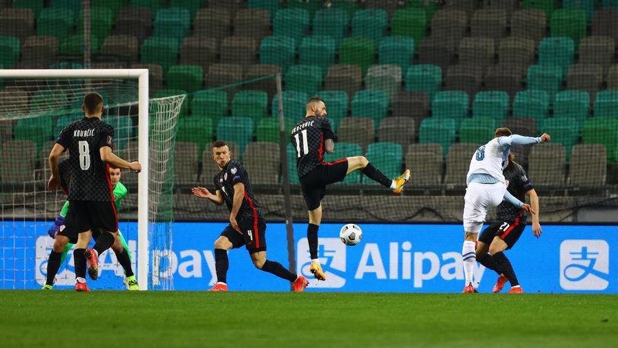 Словения переиграла вице-чемпиона мира Хорватию на старте отбора на ЧМ-2022