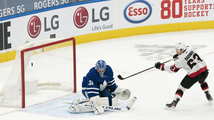Голы Анисимова и Дадонова принесли 'Оттаве' победу над 'Калгари' в НХЛ