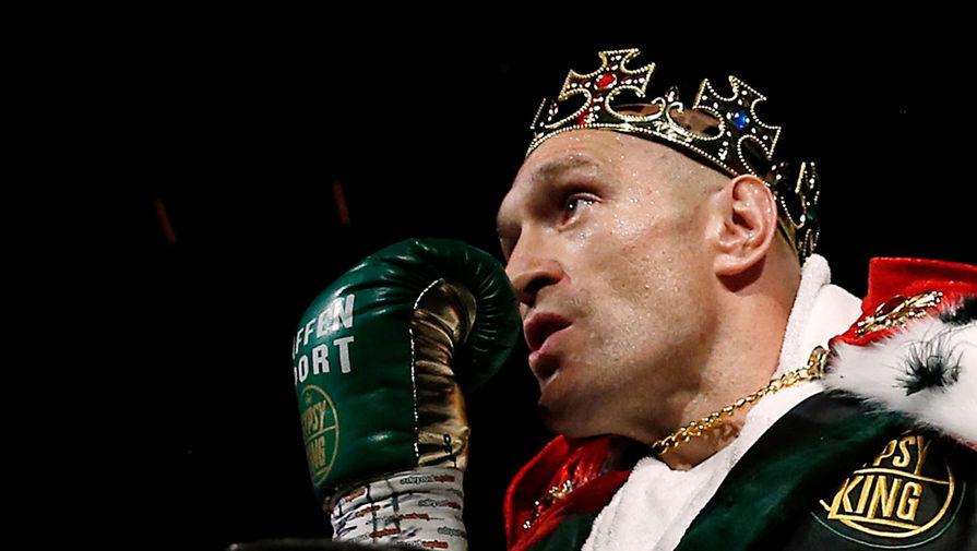 Чемпион мира по боксу Фьюри готов подраться с чемпионом UFC Нганну