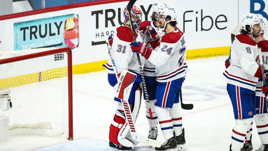 'Монреаль' обыграл 'Виннипег' в четвертой игре серии плей-офф НХЛ