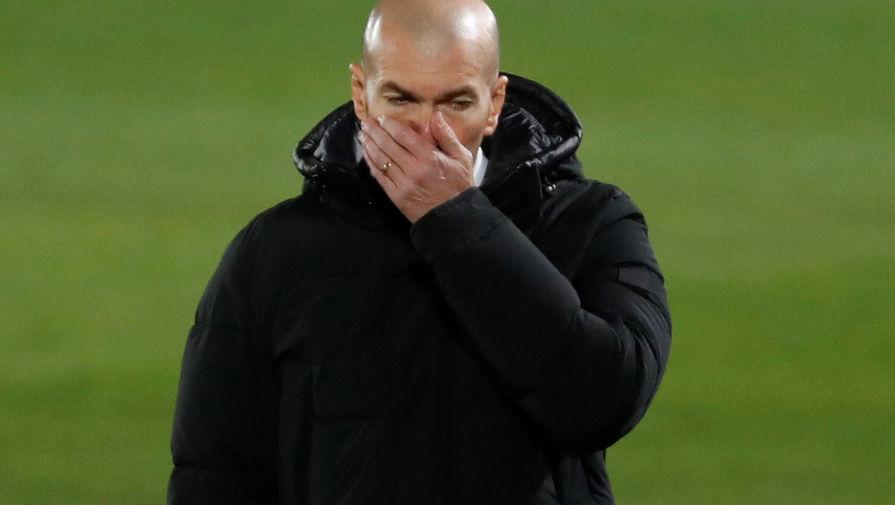 Зидан назвал почти идеальной игру 'Реала' в матче с 'Гранадой'