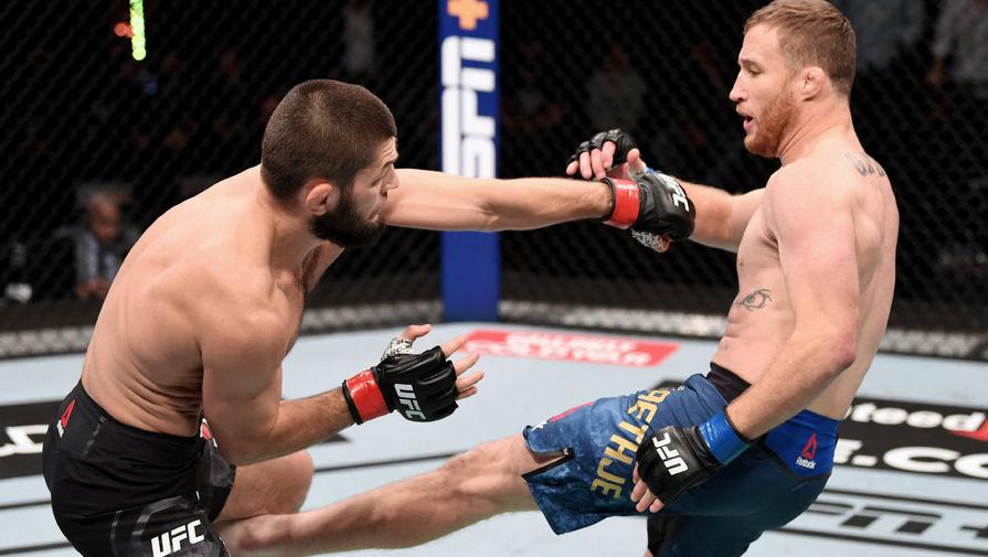 Бой между Хабибом и Гэтжи в UFC стал пятым по продажам PPV в 2020 году