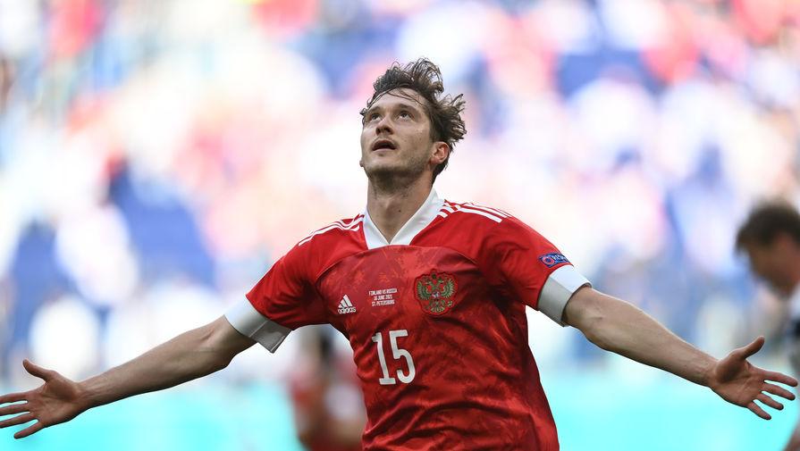 'Аталанта' поздравила Миранчука с мячом в ворота Финляндии