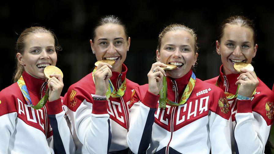 Российские саблистки вышли в полуфинал Олимпиады