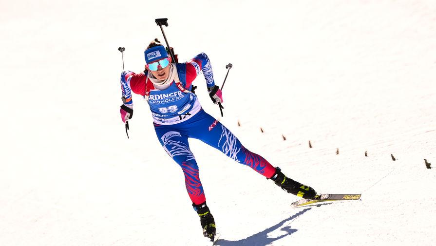 Назван состав сборной России по биатлону на этап Кубка мира в Нове-Месте