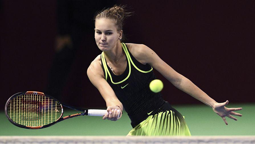 Российская теннисистка Кудерметова завоевала первый титул в карьере