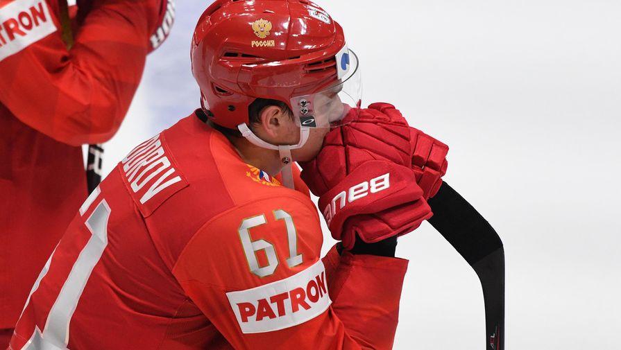 Хоккеист Задоров поделился мнением о блокировке Трампа в Twitter