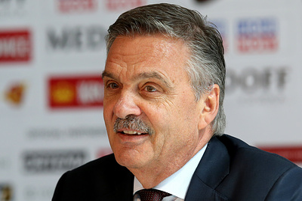 Фазель надеется, что сборная России реабилитируется за поражение в Риге в следующем году