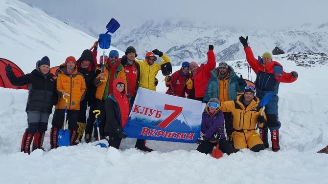 Клуб 7 Вершин приглашает в Приэльбрусье на курсы по подготовке к восхождениям на Эверест, Денали и в Антарктиде