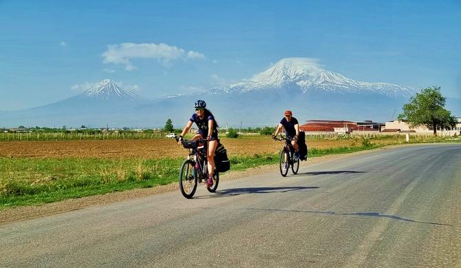На велосипеде по горам Южного Кавказа - Армения 2021